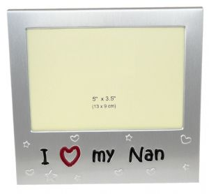 I Love My Nan Photo Picture Frame Gift - 5 x 3.5
